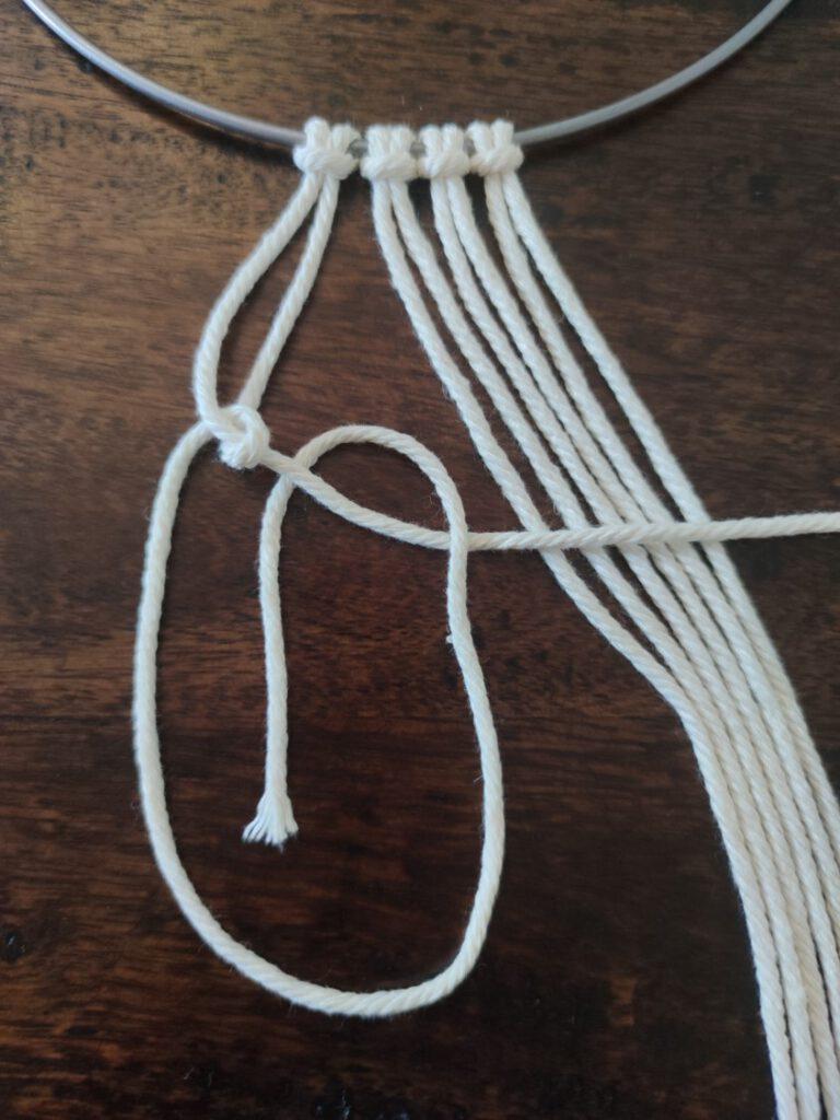 Diagonaler Rippenknoten